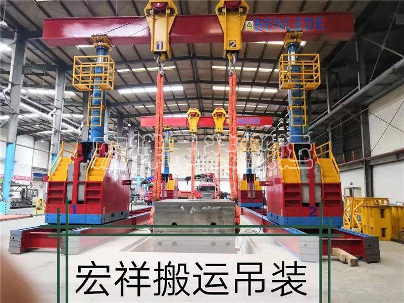 10000T龙门吊组装